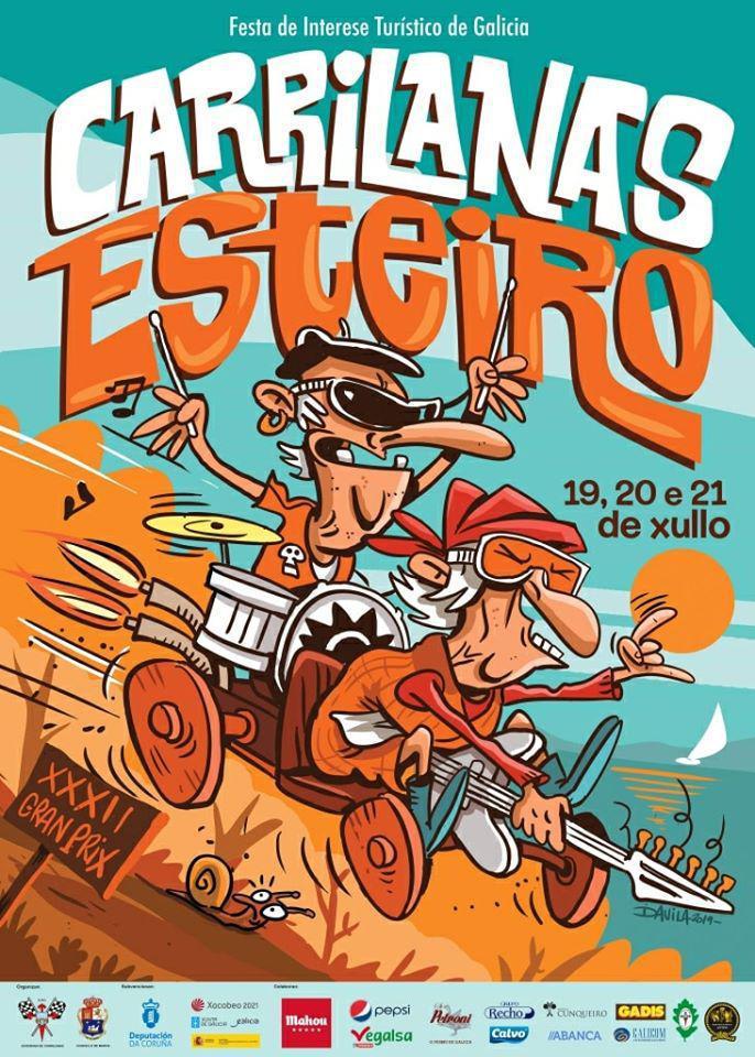 Especial Carrilanas 2019: Luís Zahera, David Fdez., Alvaro Creo