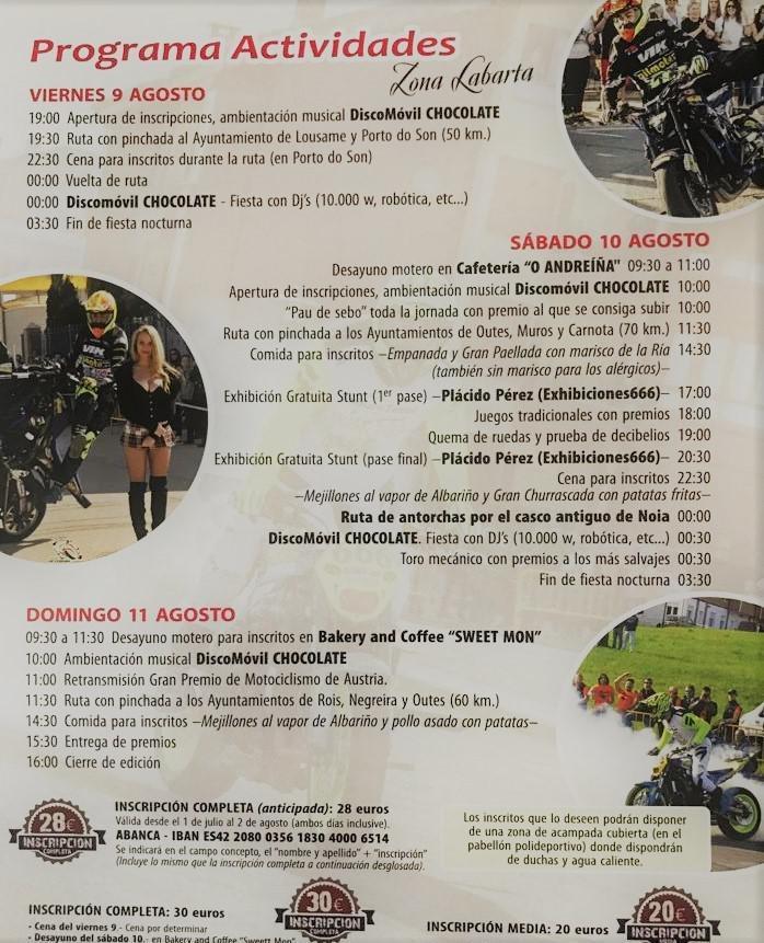 Programa especial dende o Restaurante Troita (Praia de Boa)