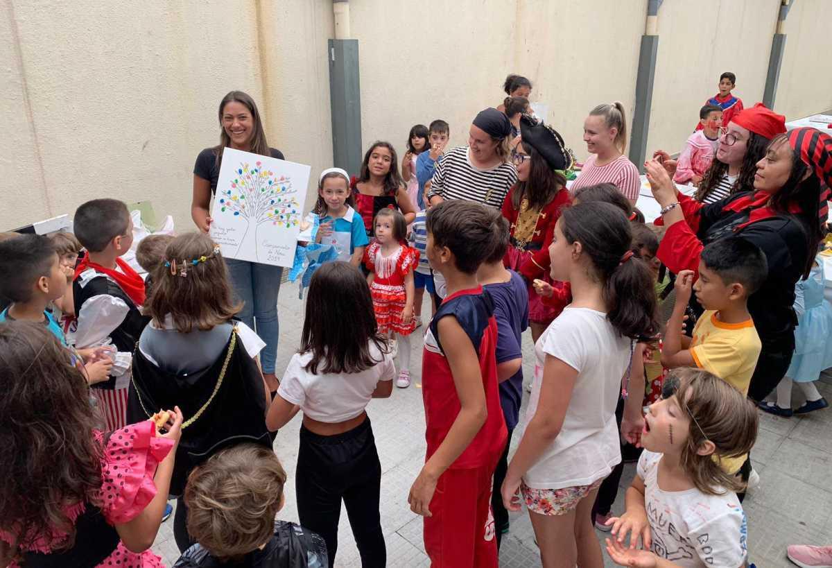 Clausura dos Campamentos Urbanos de Noia e de taekwondo do ITF Noia