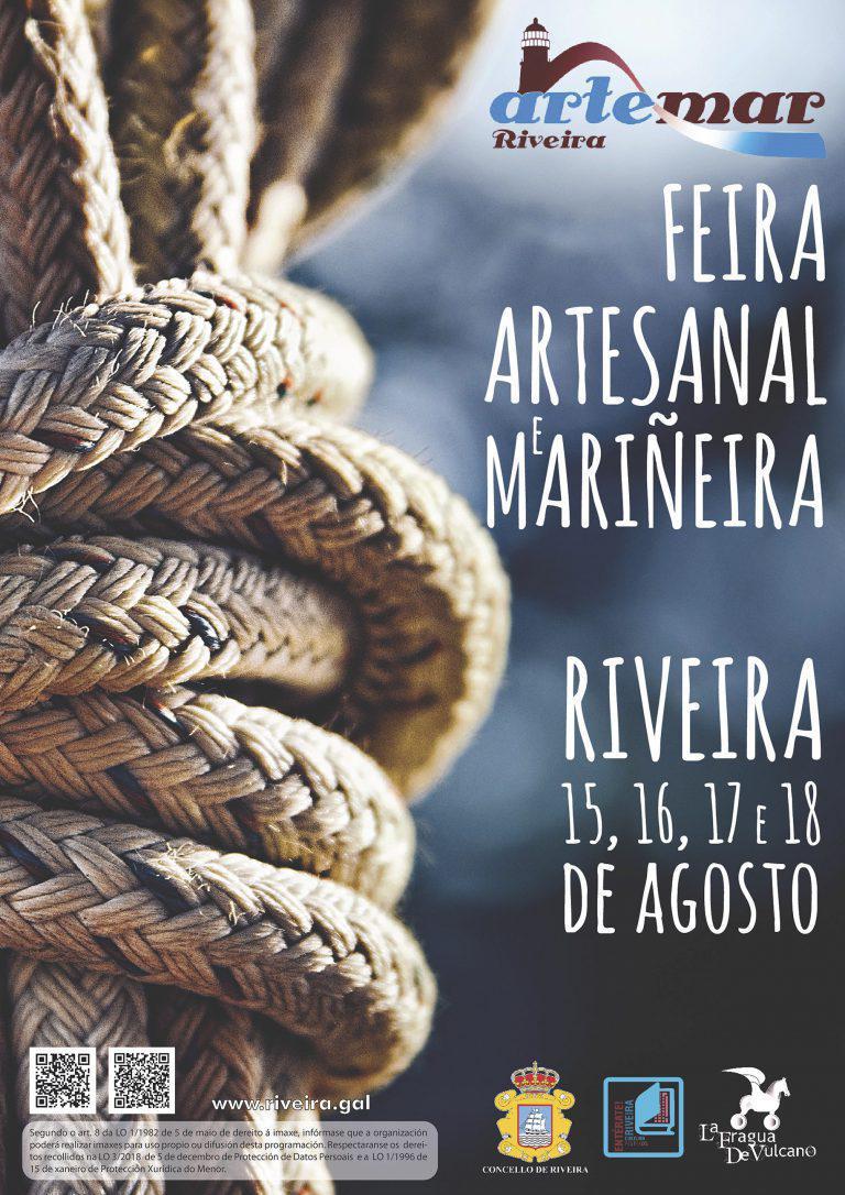"""FEIRA ARTESANAL E MARIÑEIRA """"ARTEMAR RIVEIRA 2019"""""""
