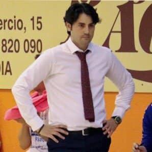 Miguel Guerra (Lesende CF) y Marlon Velasco (Noia FS Portus Apostoli)