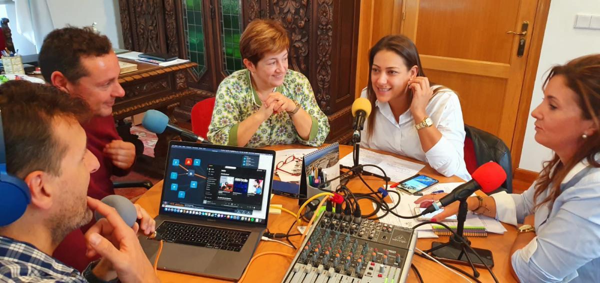 Concello de Noia: Laura Salgado e Mariola López