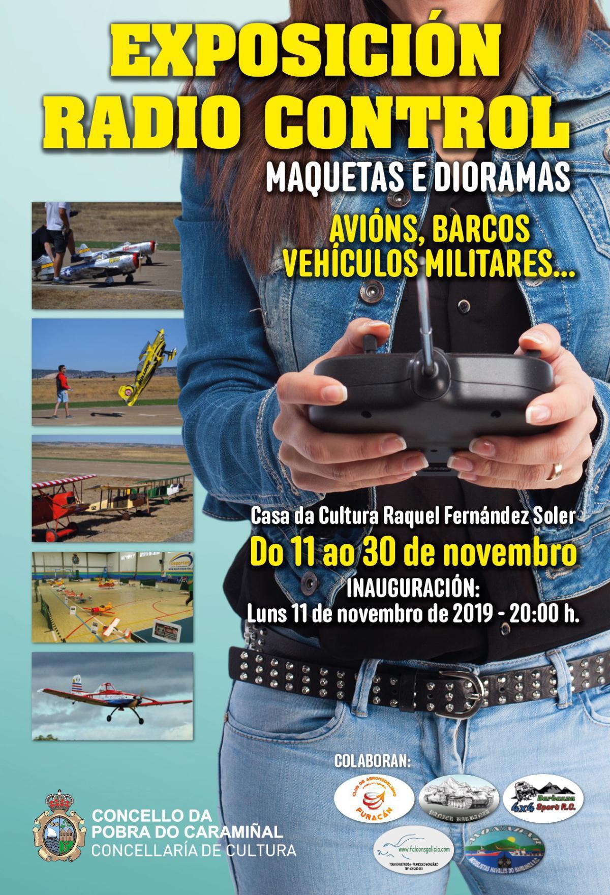 Exposición do Club de Aeromodelismo Furacán
