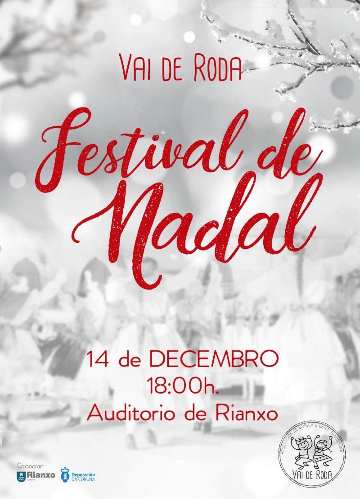 Festival de Nadal da Asociación Vai de Roda