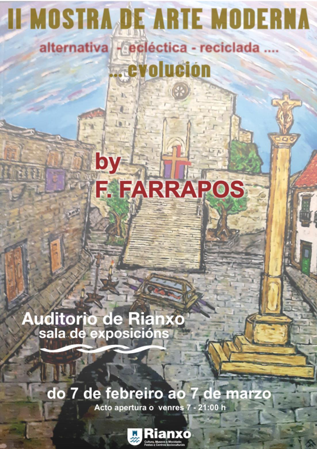 Exposición II Mostra de Arte Moderna...evolución de F. Farrapos