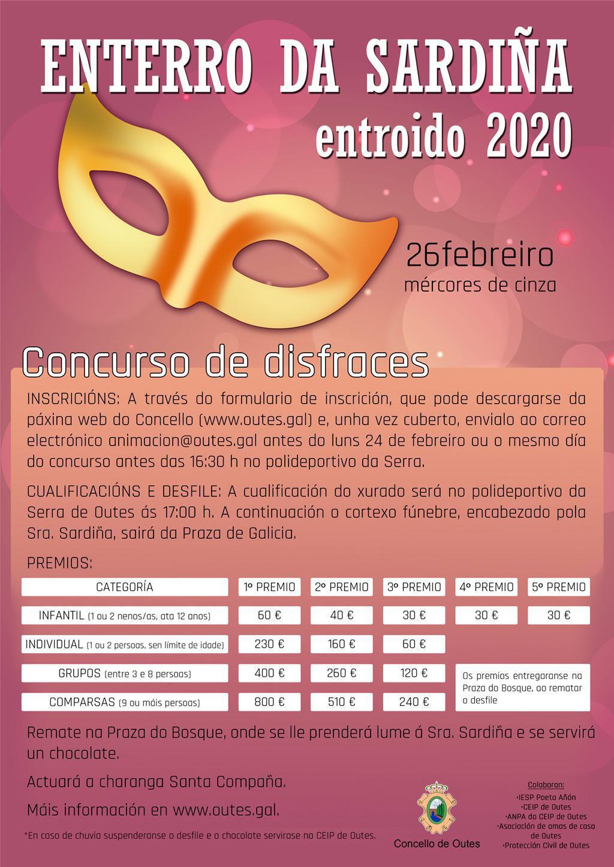 ENTERRO DA SARDIÑA 2020. CONCURSO DE DISFRACES