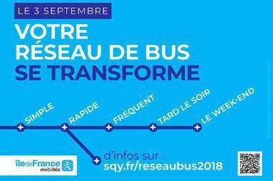 Elancourt : Nouveau réseau de bus en septembre