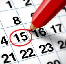 Calendrier 2019 et temps de travail