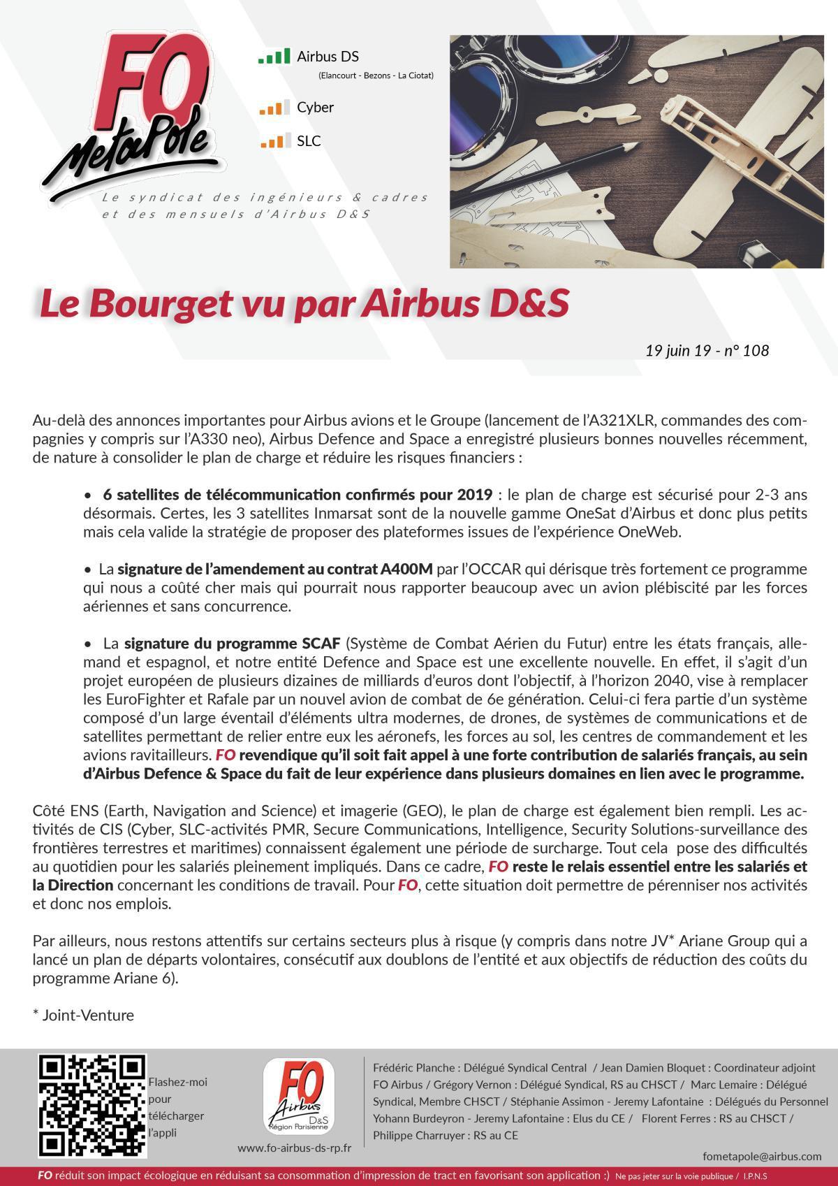 Le Bourget vu par Airbus D&S