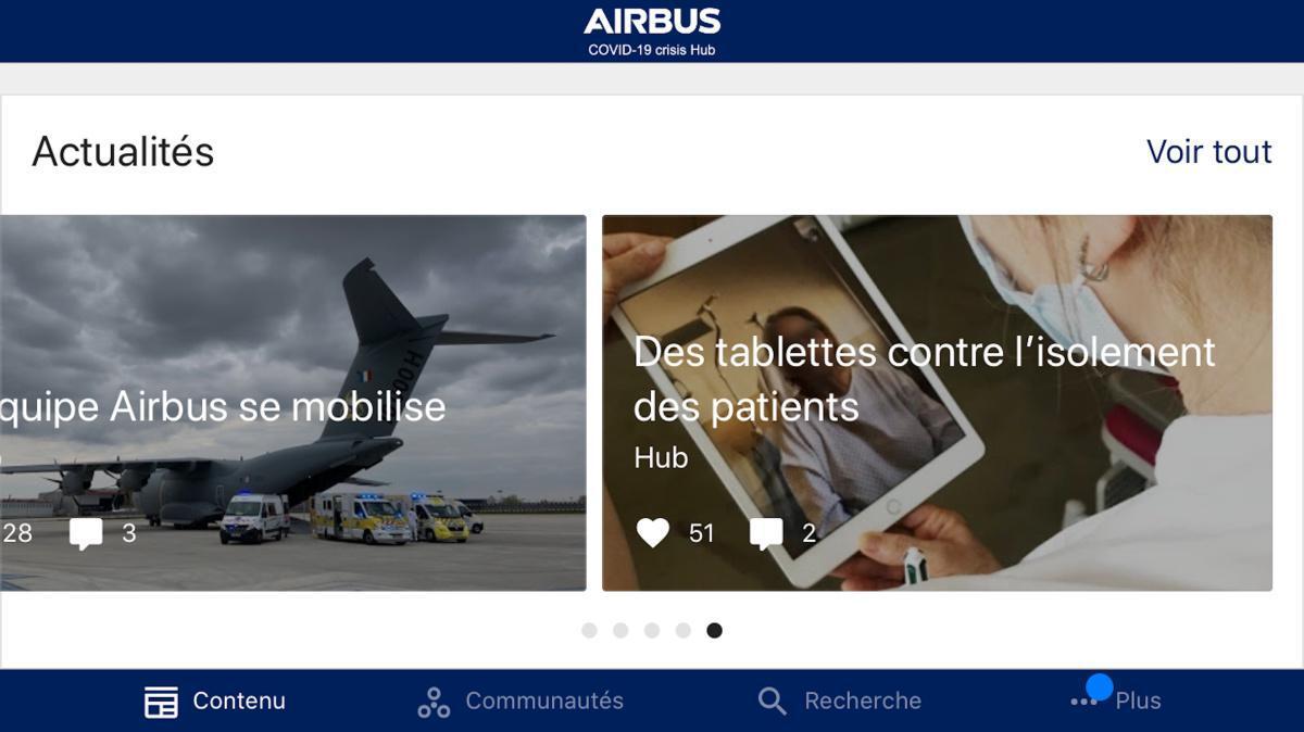 Le Hub débarque sur votre mobile