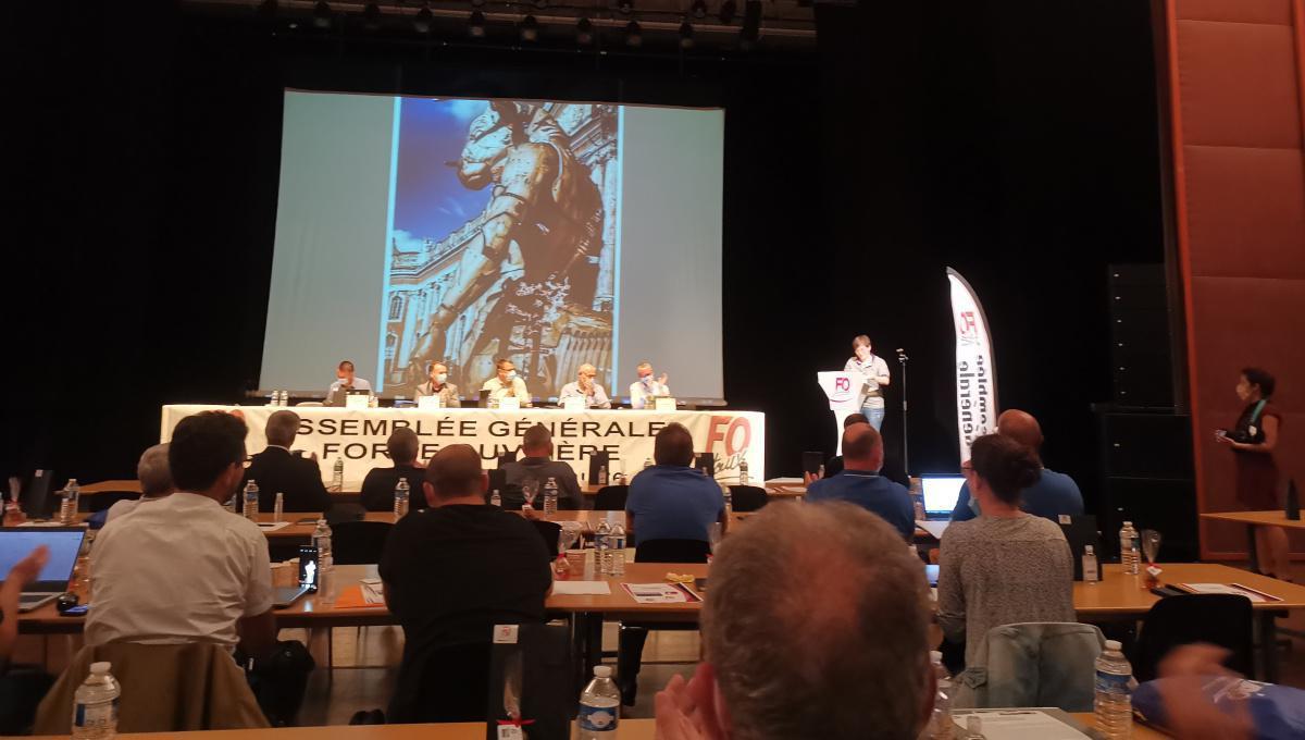 Motion des syndicats FO Airbus votée en AG