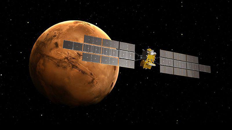 Airbus DS rapportera les premiers échantillons martiens sur Terre pour le compte de l'ESA