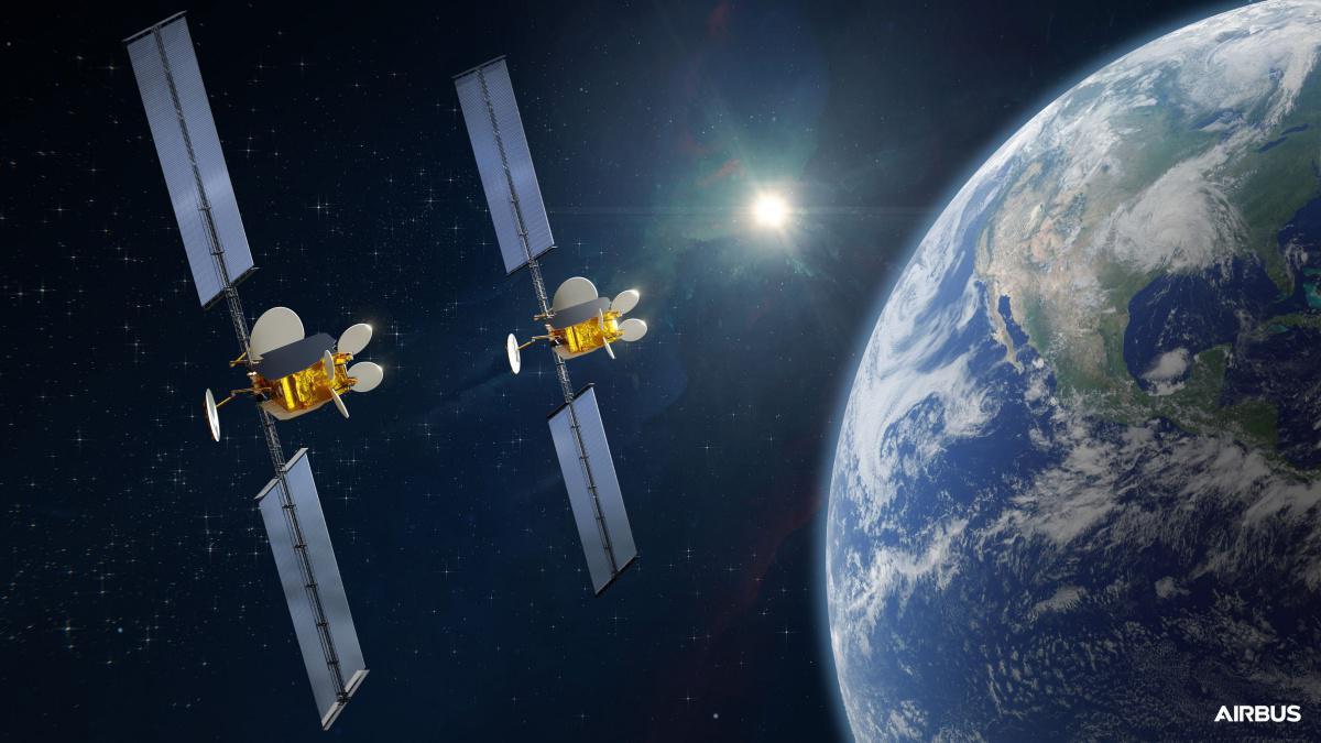 Airbus signe un contrat avec Intelsat pour deux satellites flexibles OneSat