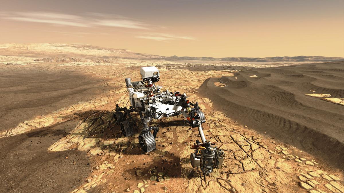 La technologie spatiale d'Airbus arrive sur Mars
