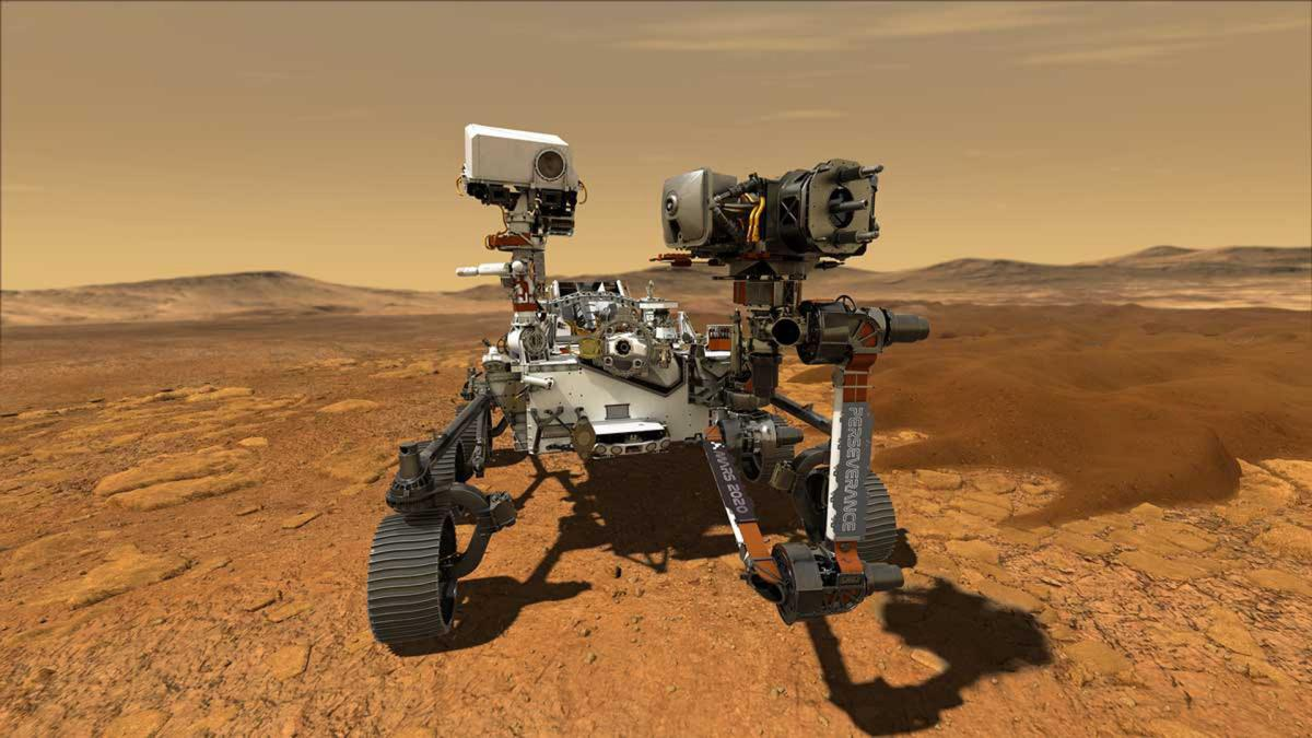 MARS 2020 Infos et Live Rover Perseverance