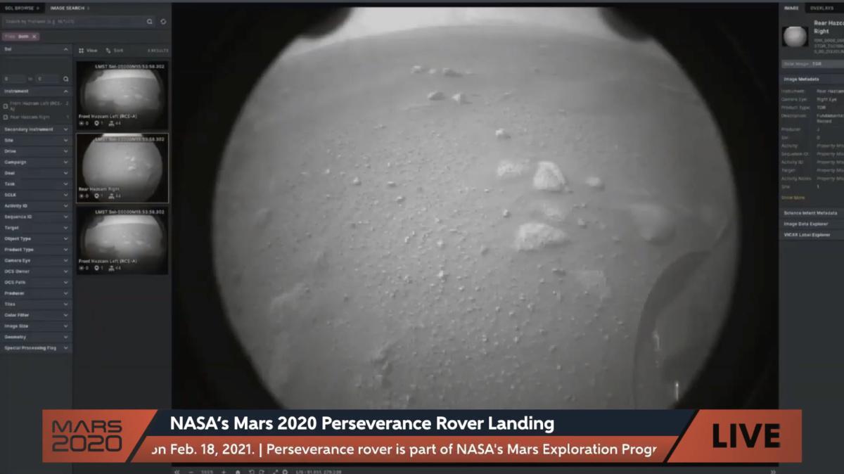 #Mars2020 les premières images
