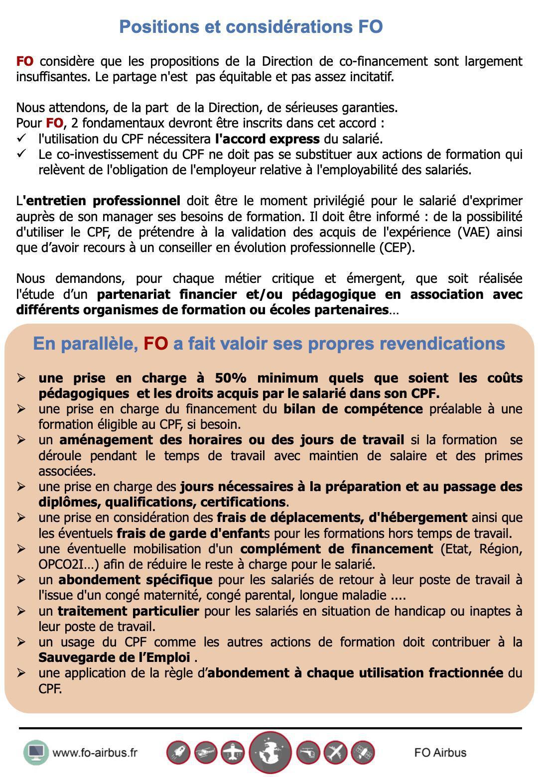CPF : les propositions de co-investissement d'Airbus