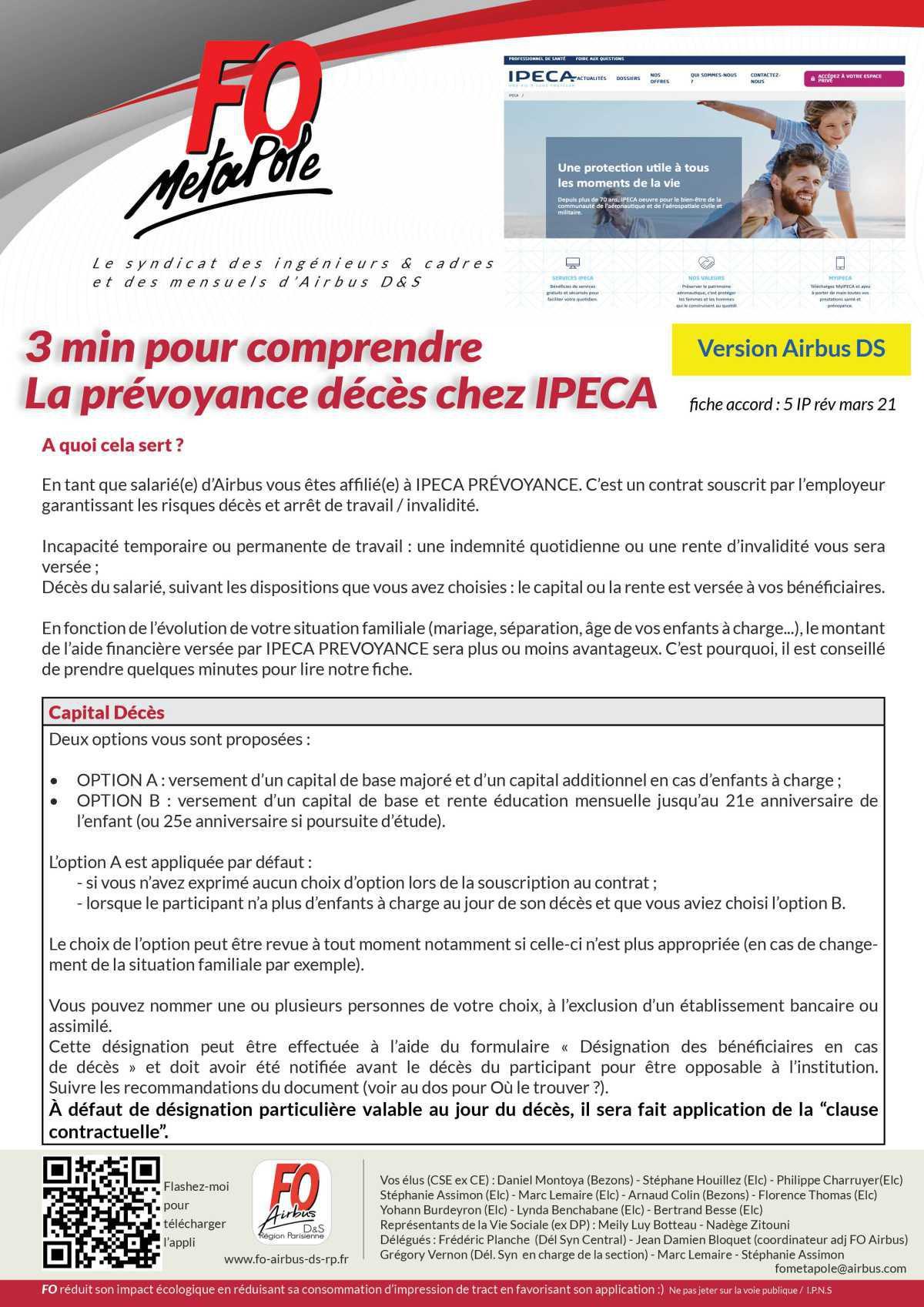 3min pour comprendre : la prévoyance décès IPECA