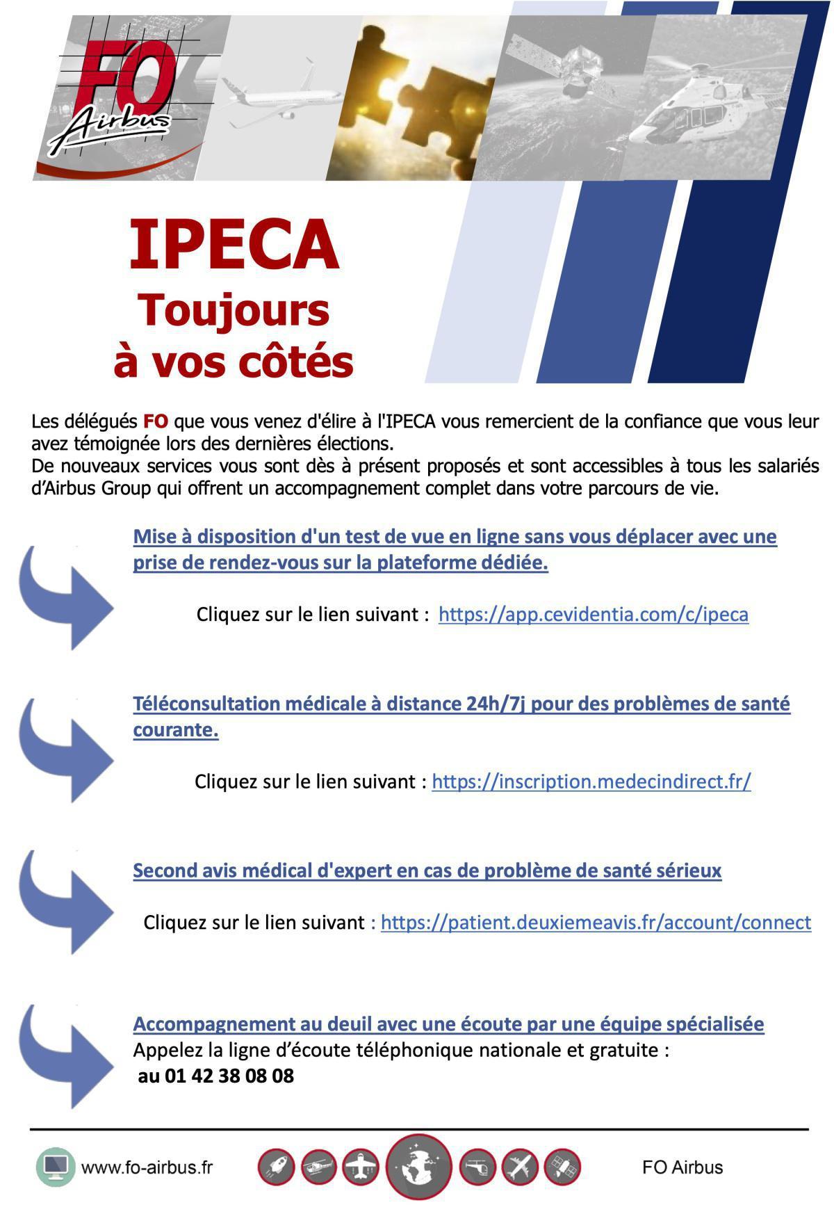 IPECA Toujours à vos côtés