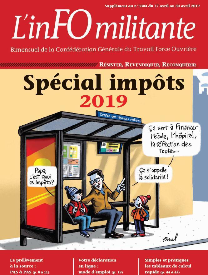 Guide FO : Spécial impôts 2019