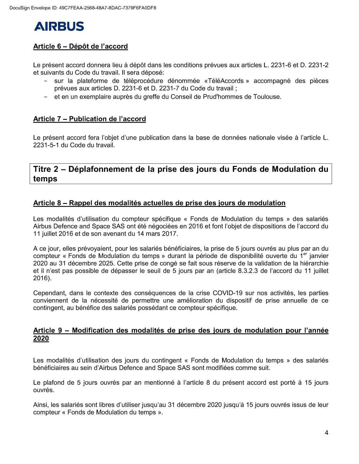 Covid-19 : accord ADS sur les mesures d'accompagnement