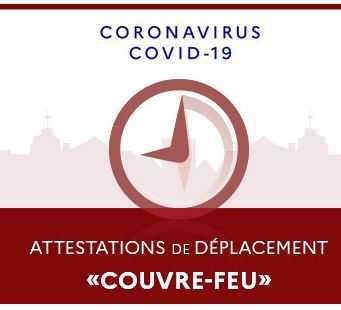 """Attestation """"Couvre-feu"""" numérique"""