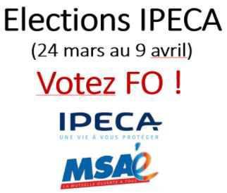 Elections IPECA du 24 mars au 9 avril : c'est LE moment !
