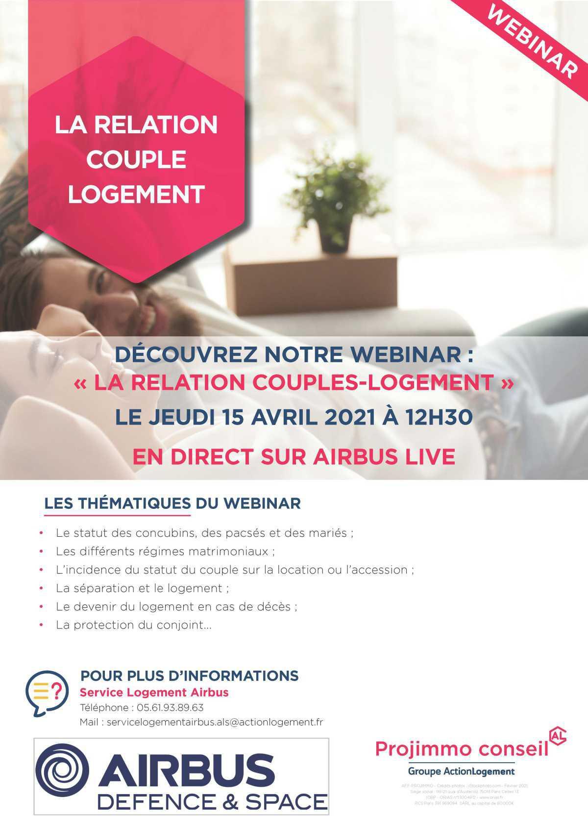 Conférence Couple & Logement