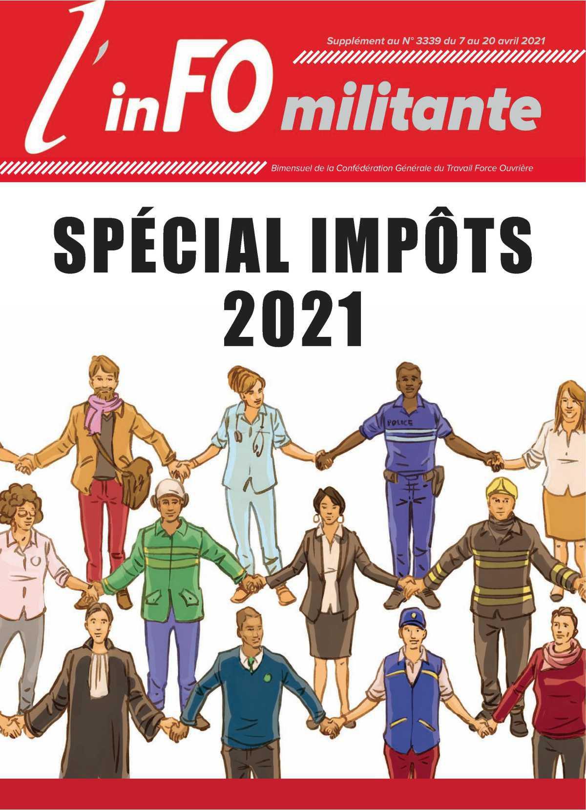FO Spécial Impôts 2021