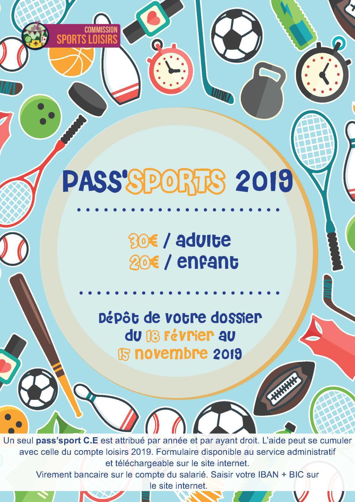 InFO CE : Pass' sport.