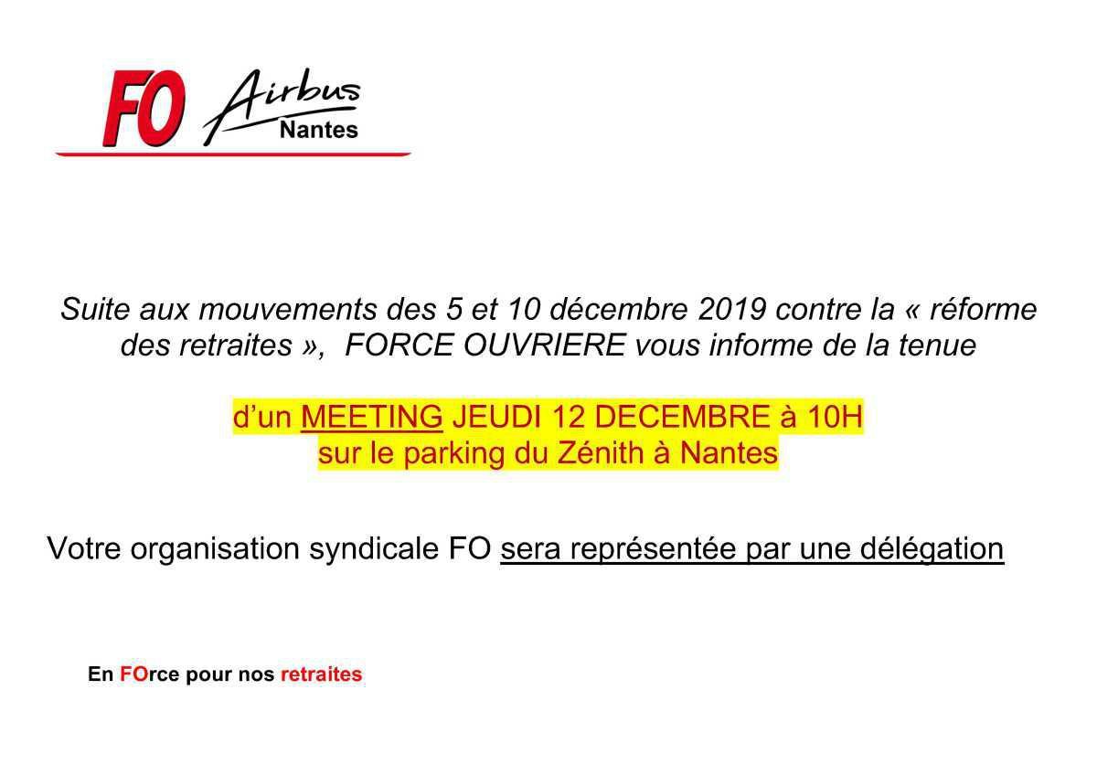 Meeting 12 décembre.
