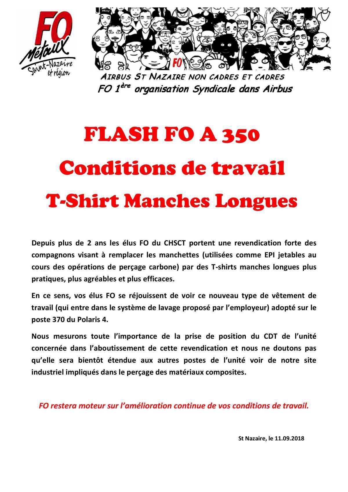 Flash T-Shirt Manches Longues