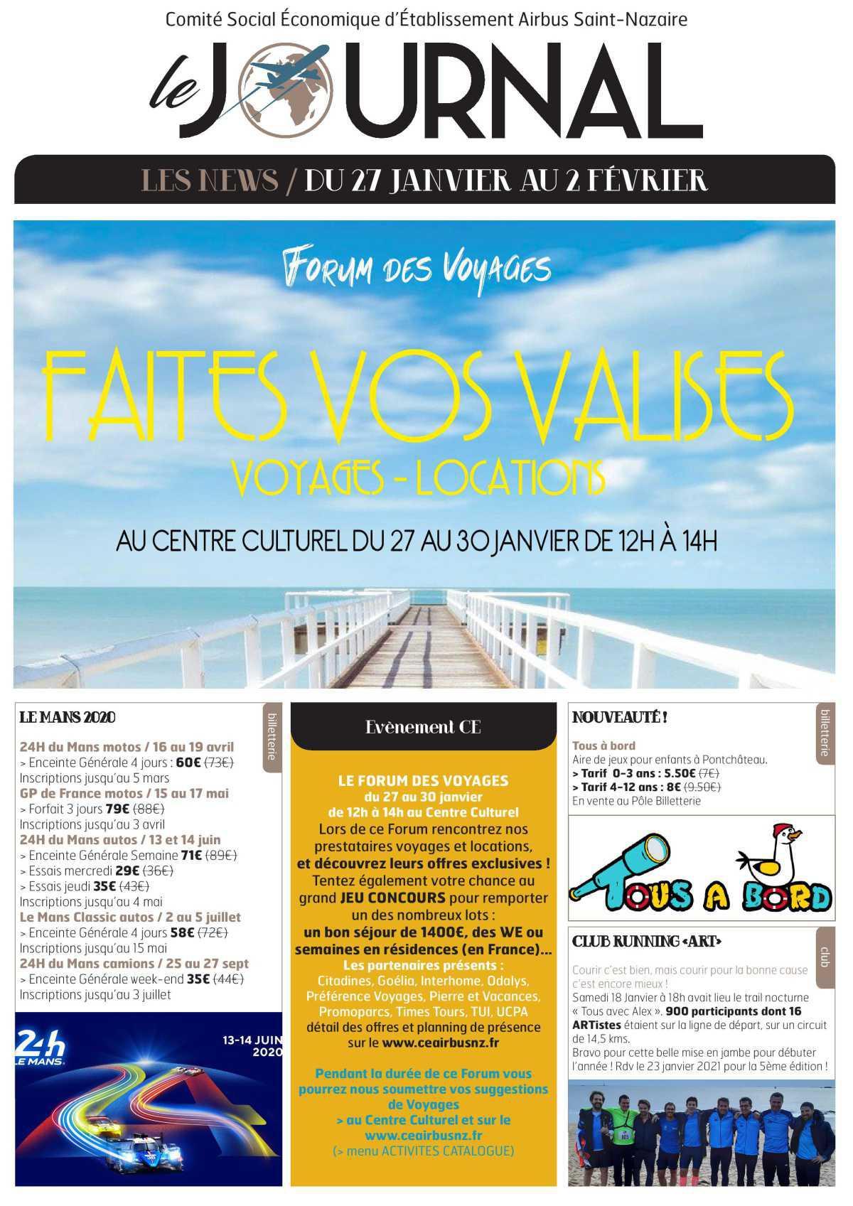 Infos CSE et COOP Semaine 5