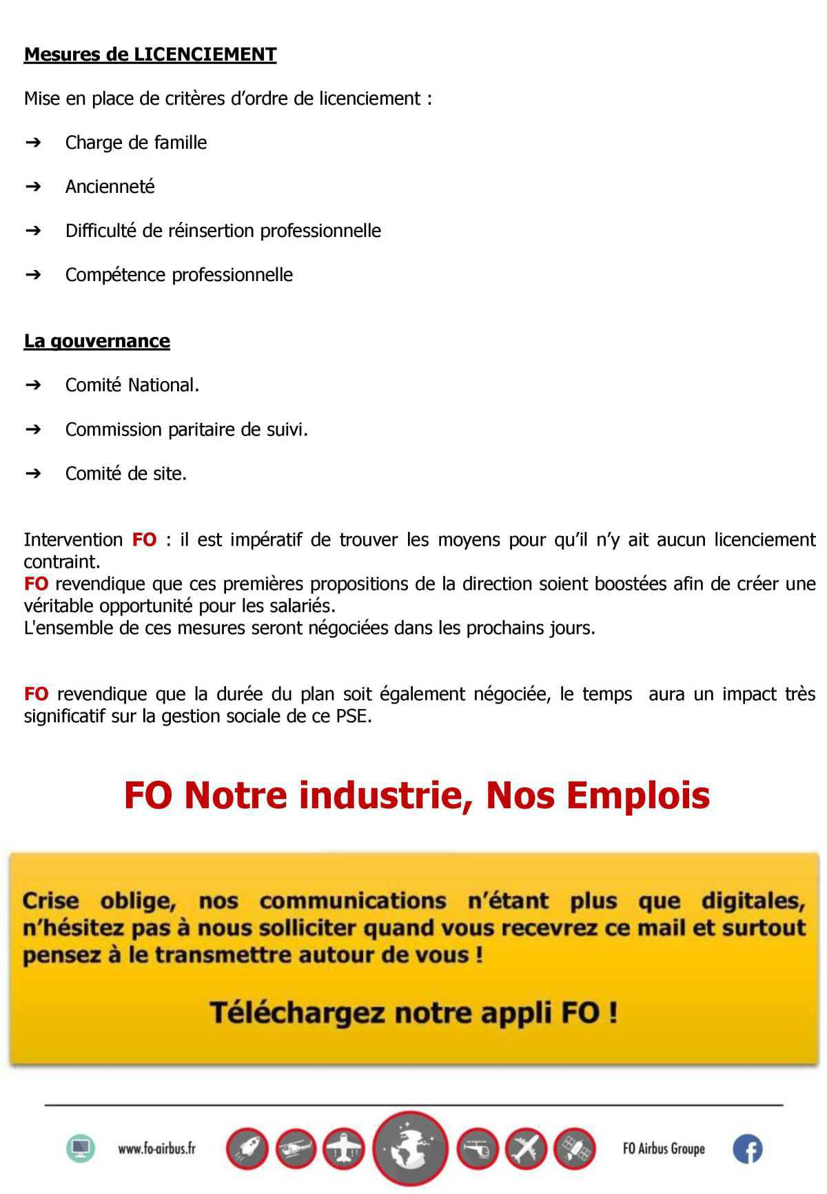 Comité Groupe Airbus France