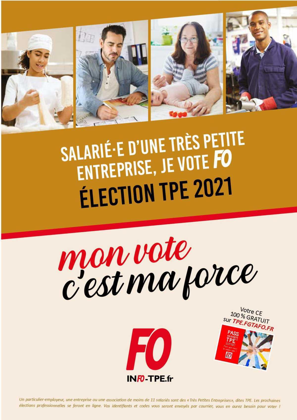 Elections dans les TPE
