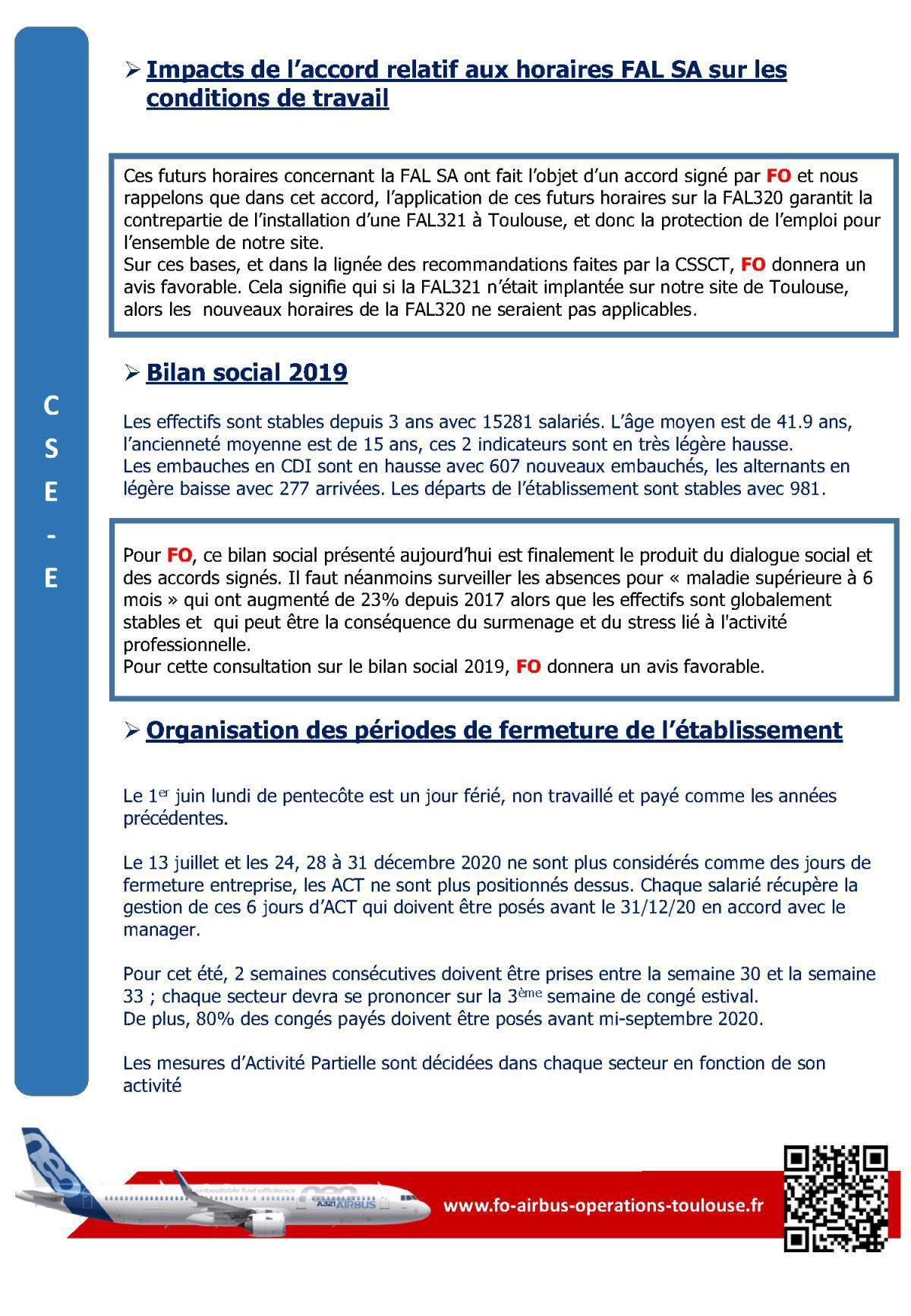 CSE-E du 29 mai 2020