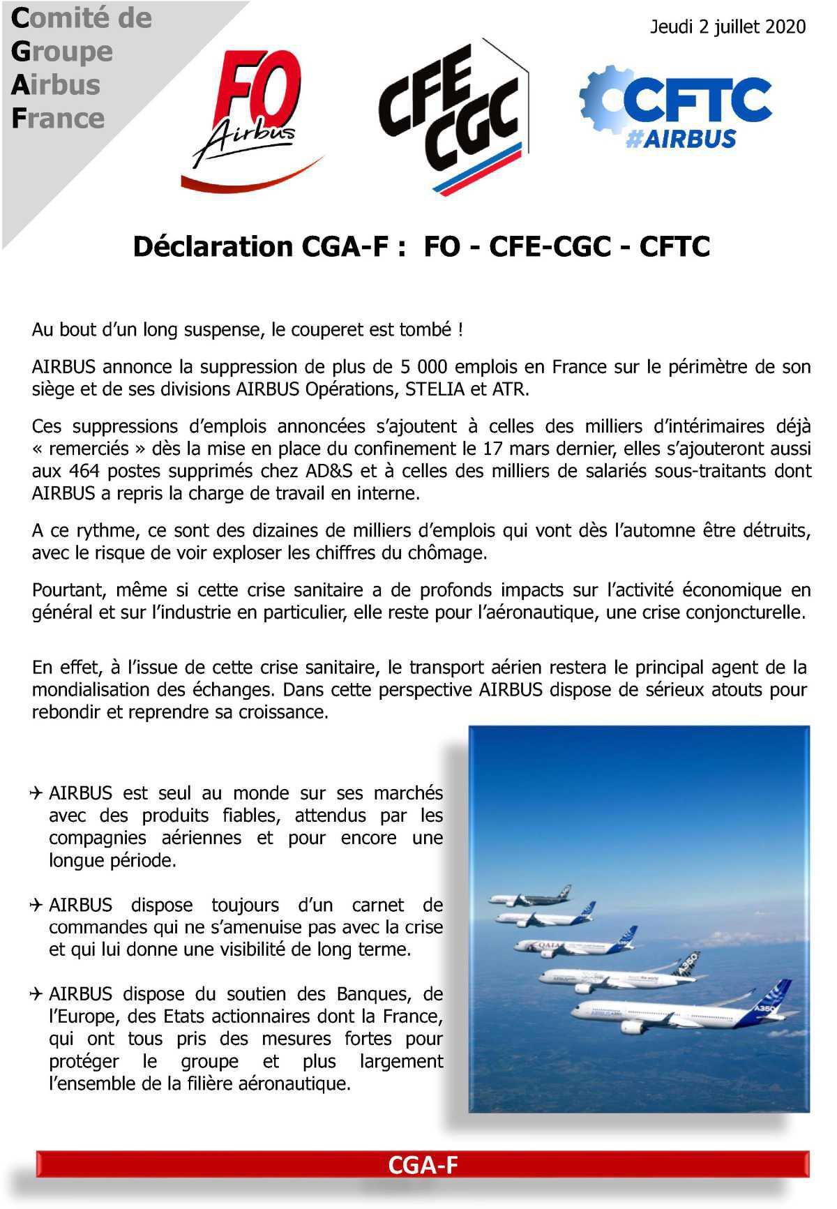 CGA-F du 2 Juillet