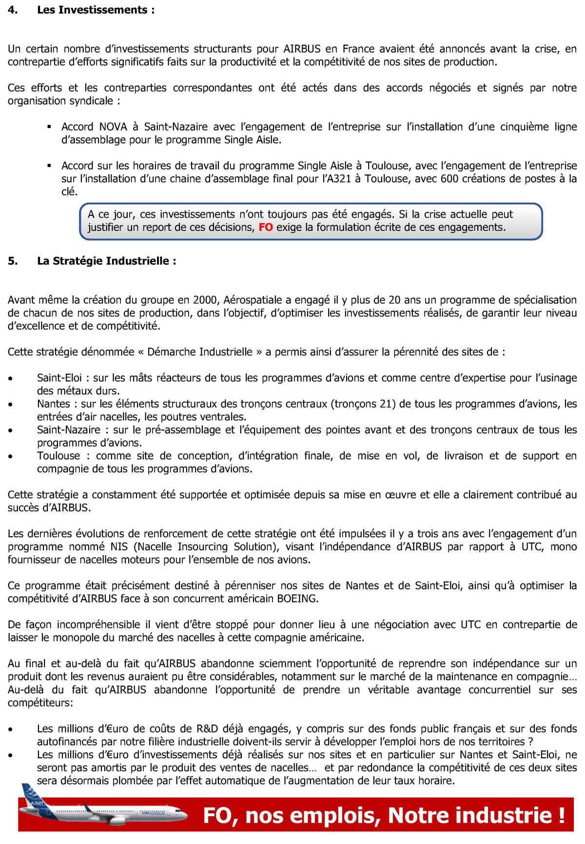 Projet ODYSSEY, les Enjeux, la Stratégie, les questions portées par FO