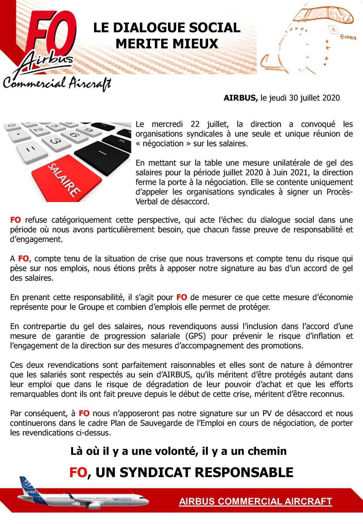 Politique Salariale 2020 / Juin 2021