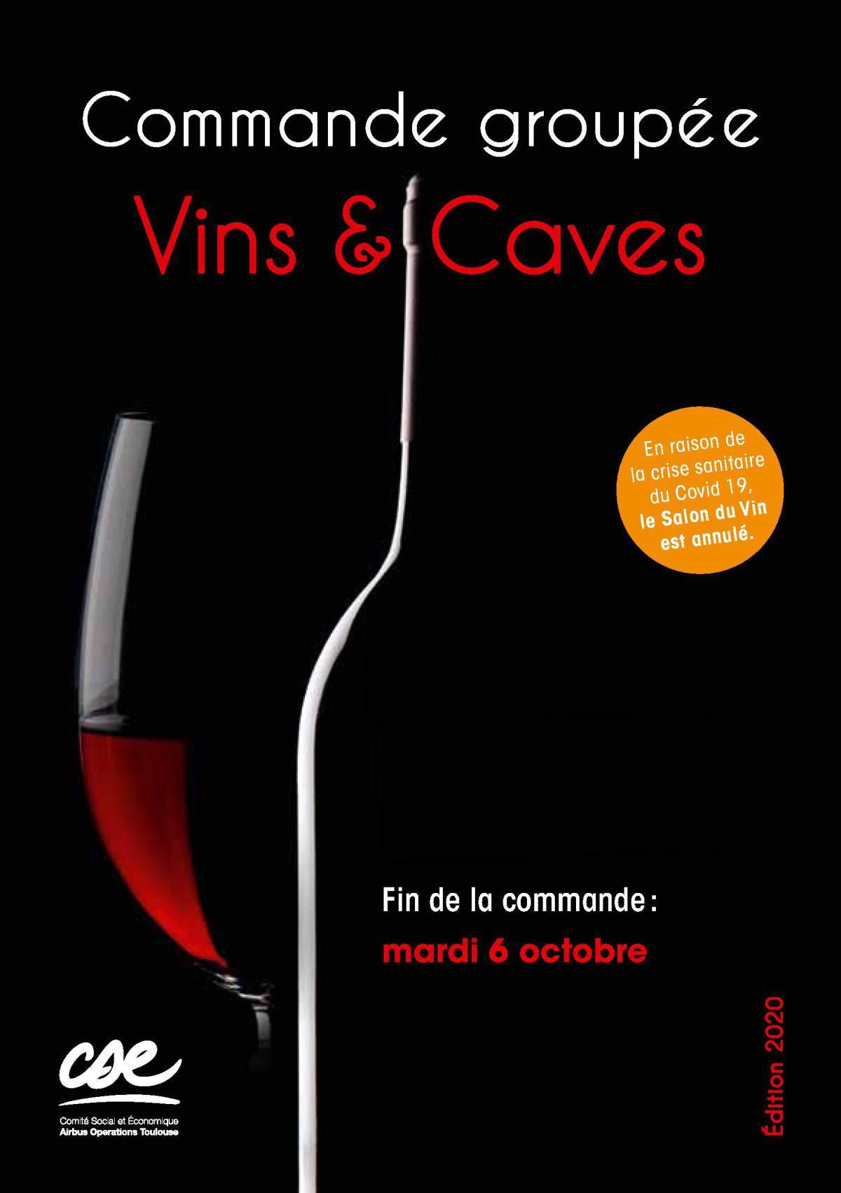 Commande groupée vins & caves de la Coopérative