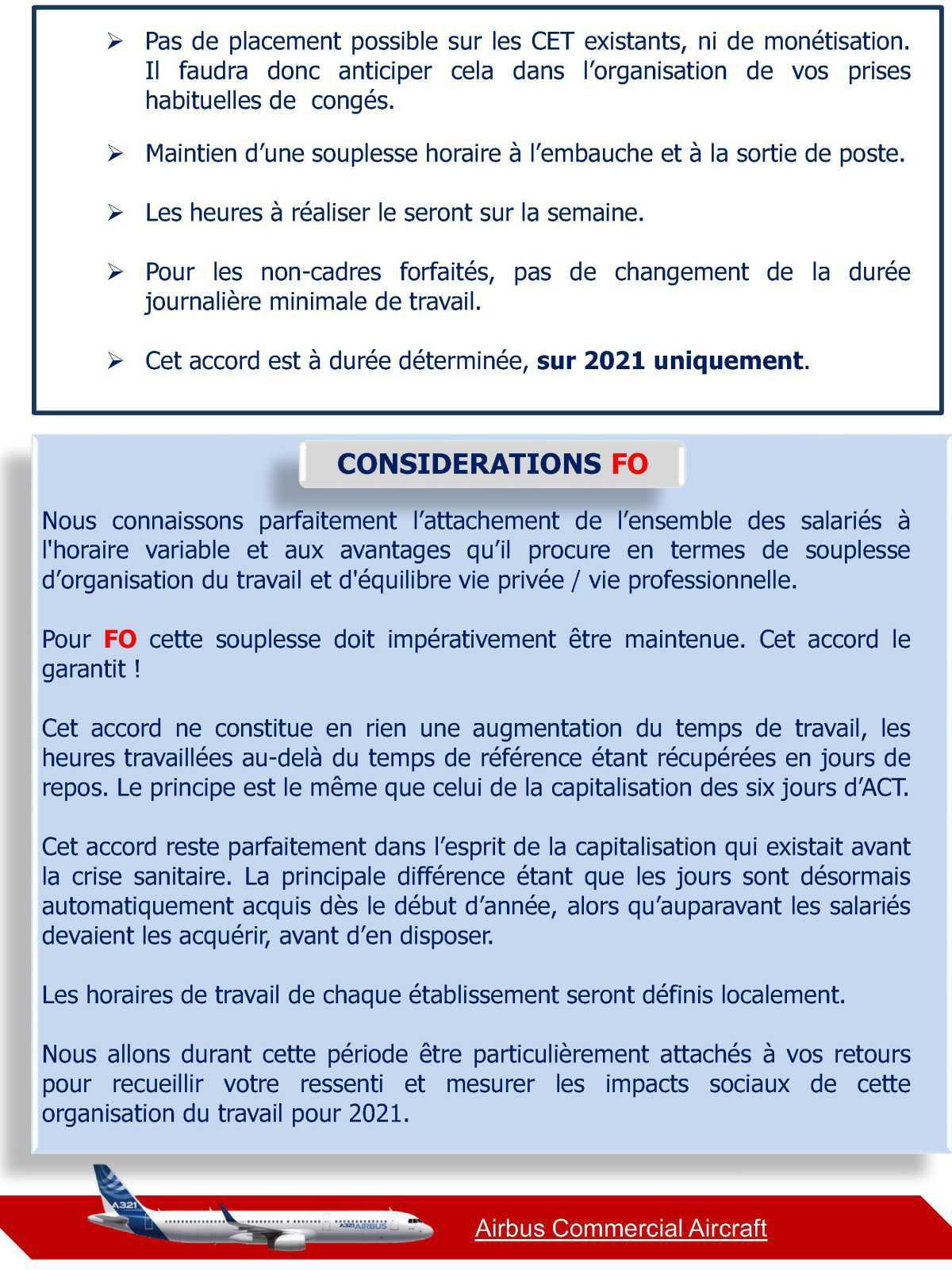 FO signe l'accord sur les modalités d'organisation du travail des salariés hors APLD