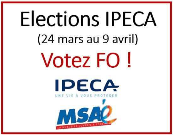 Elections IPECA du 24 mars au 9 avril