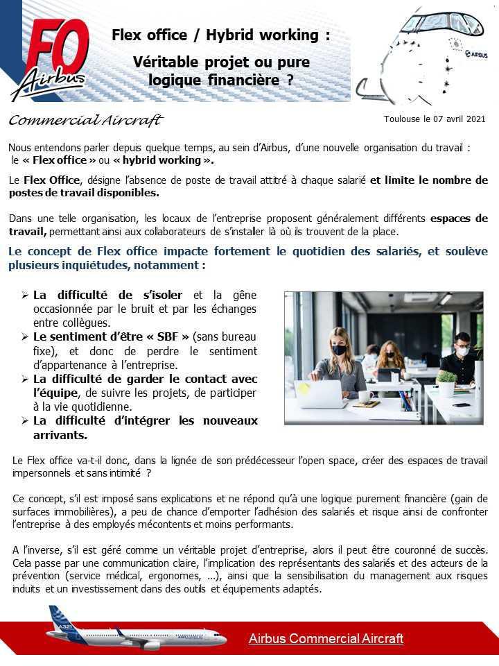 Flex office / Hybrid working: Véritable projet ou pure logique financière ?