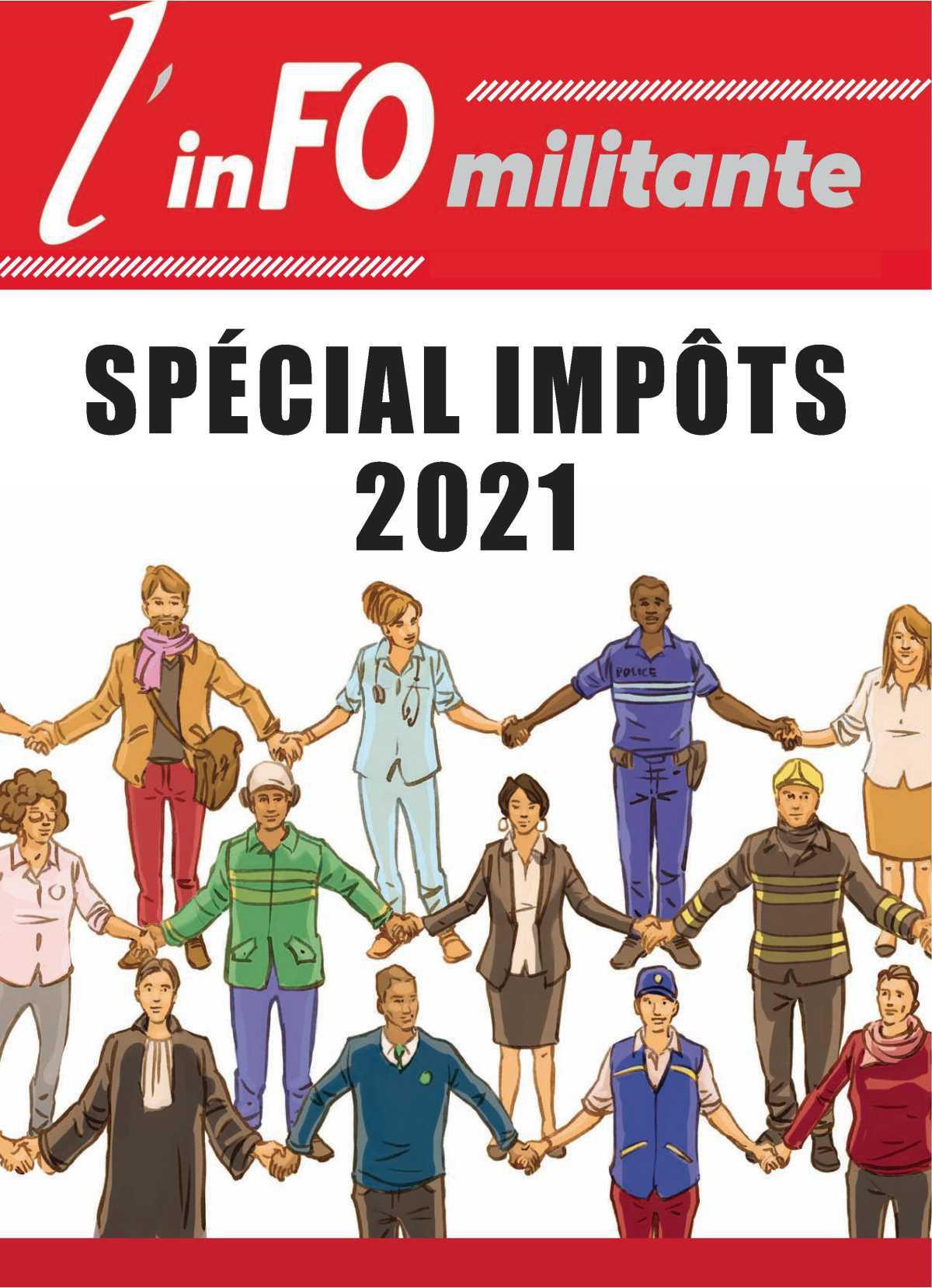 Spécial FO Impôts 2021