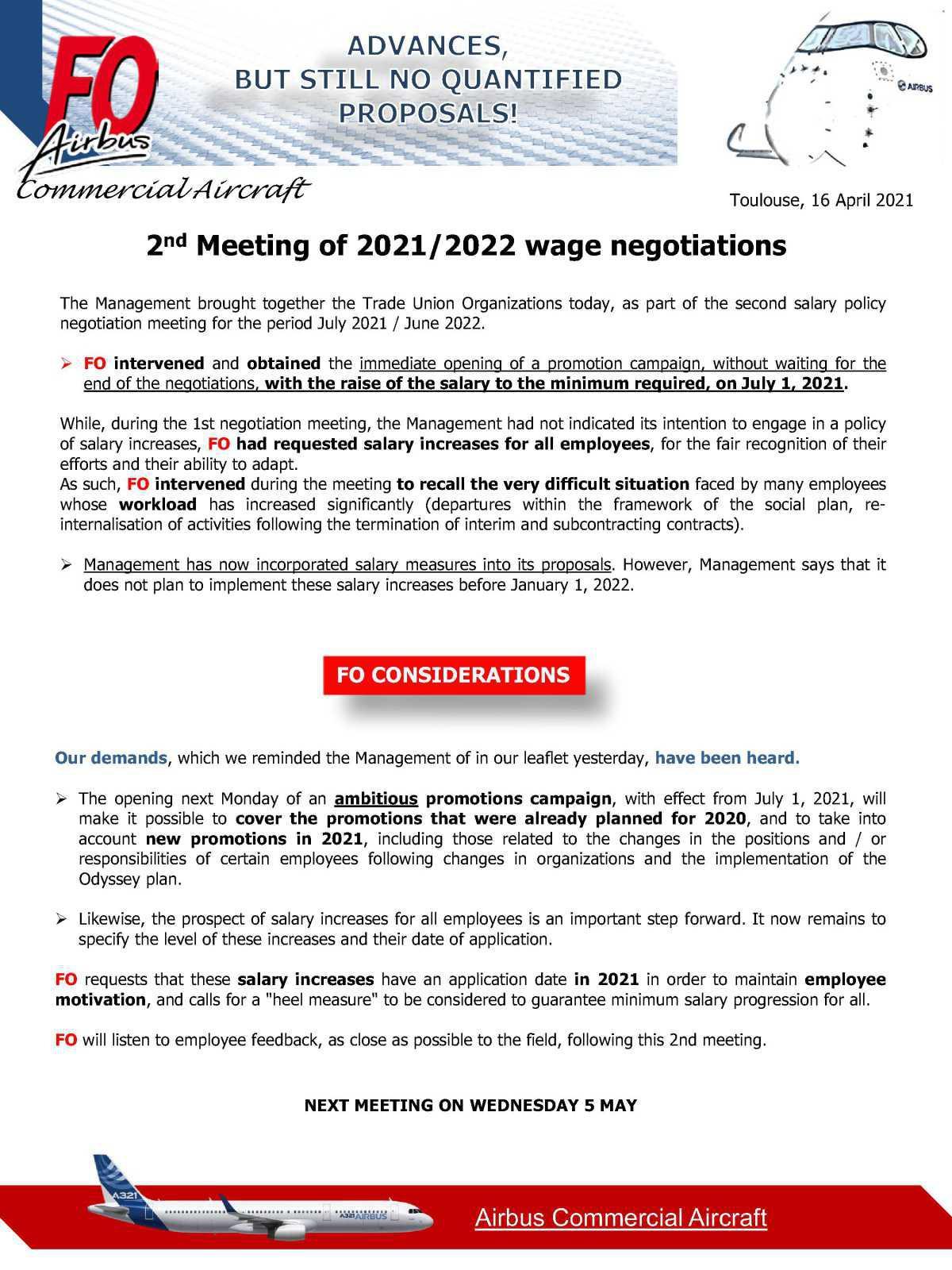 2ème réunion politique salariale 2021/2022 (FR/EN)