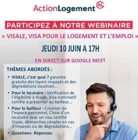 Action Logement: participez à notre webinaire ce jour à 17h00