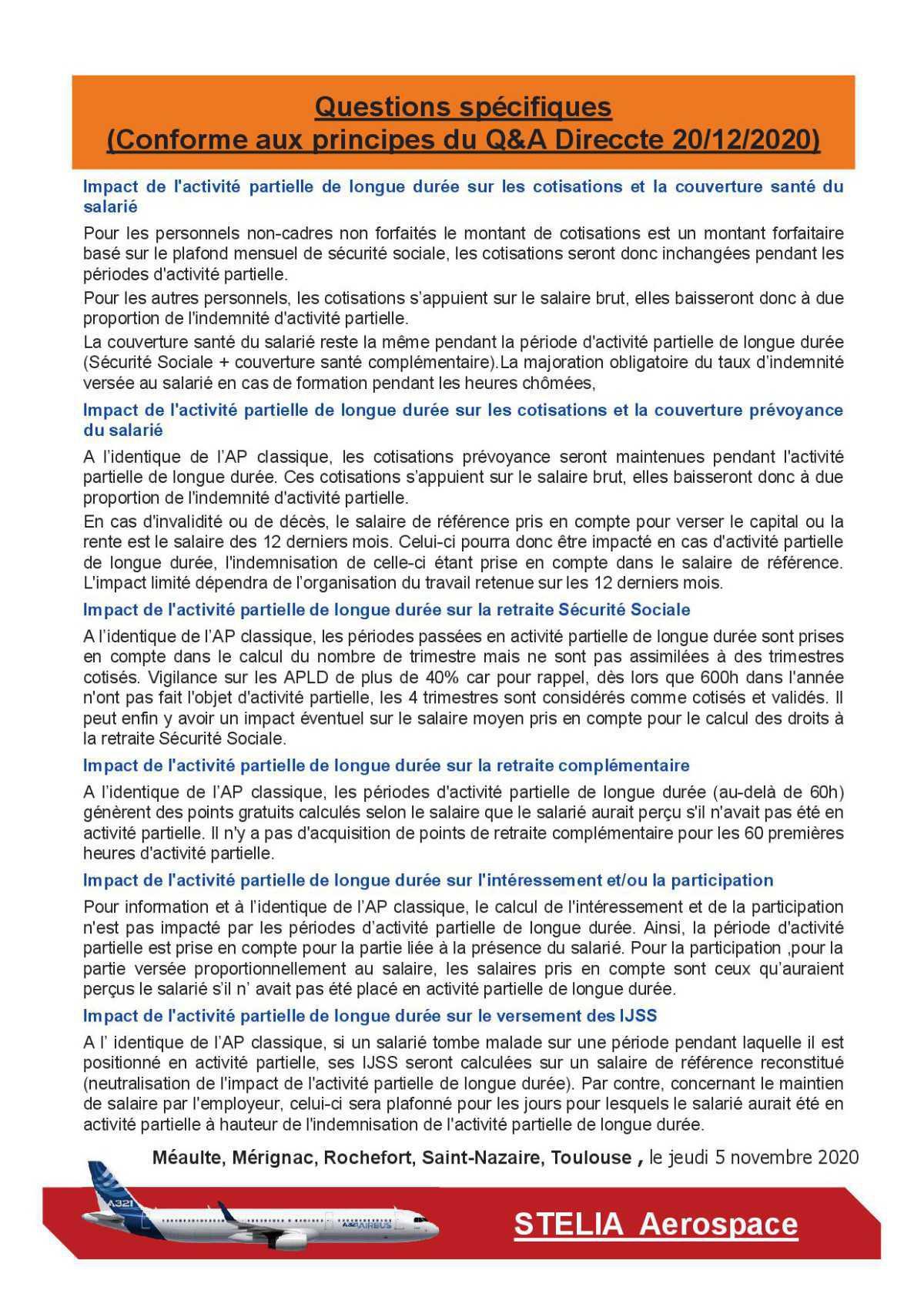 Réunion de négociation APLD 4