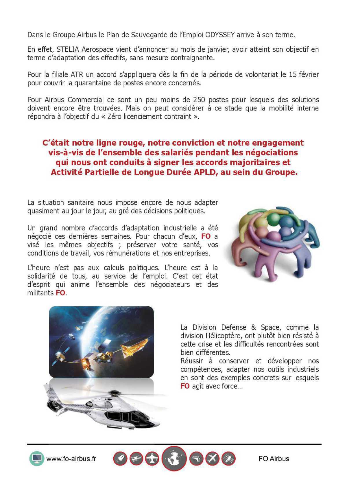 CAPITALISER LA CRISE POUR RENFORCER AIRBUS