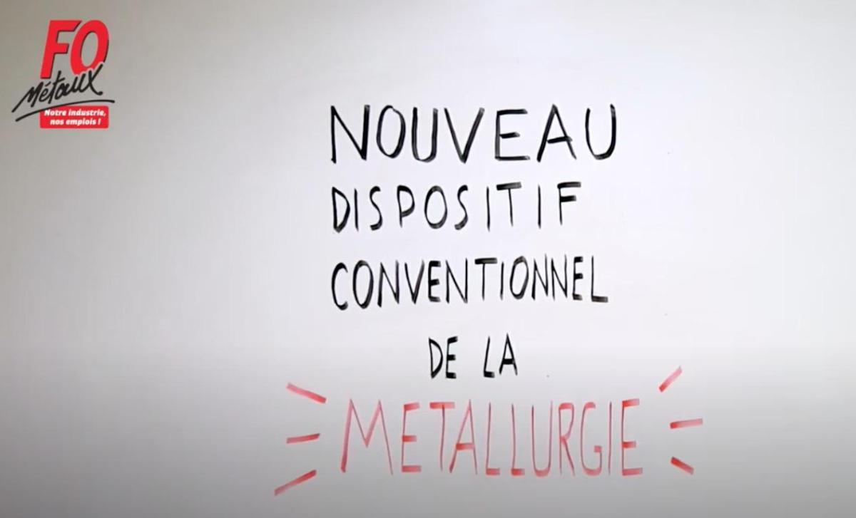 Evolution du Dispositif Conventionnel de la Métallurgie (réforme UIMM) - Vidéo 1
