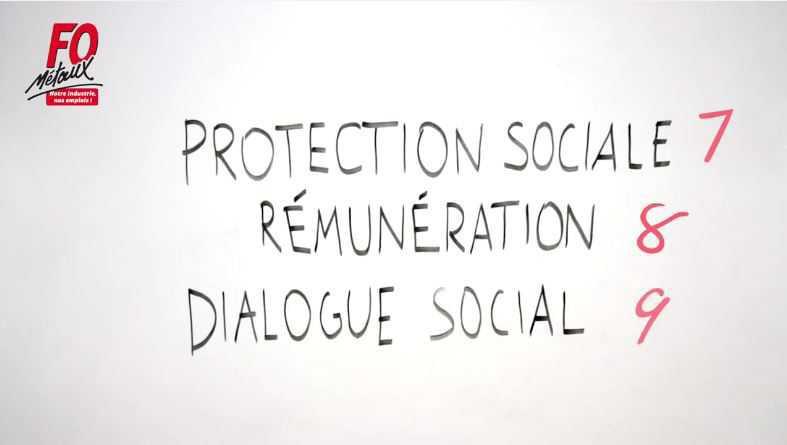 l'Evolution du Dispositif Conventionnel de la Métallurgie (réforme UIMM) - Vidéo 8 - PROTECTION SOCIALE, REMUNERATION, DIALOGUE SOCIAL